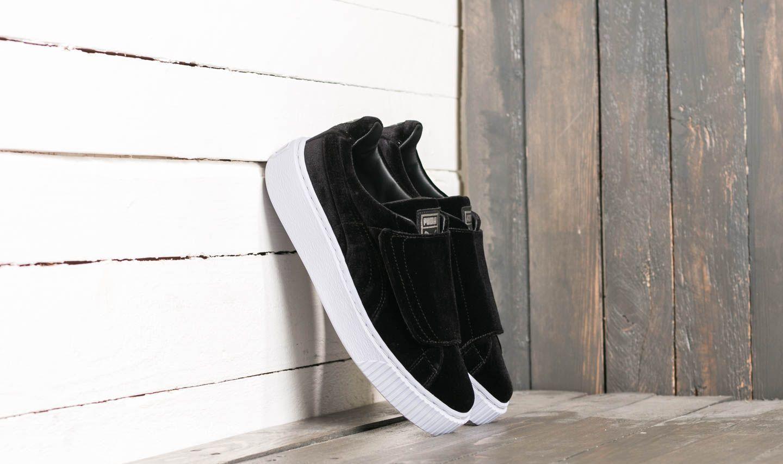 ef34f3a36 Puma Basket Platform Strap VR Wn´s Puma Black  Puma Black  Icelandic Black