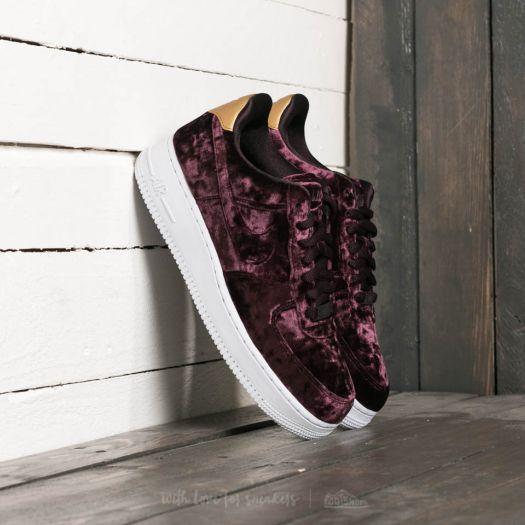 Nike Women's Air Max 1 Premium Port WineWhite sneakers