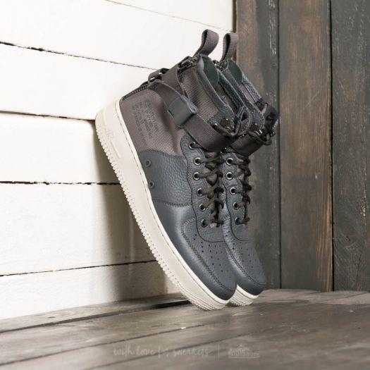 Nike SF Air Force 1 Mid Dark Grey Dark Grey Light Bone