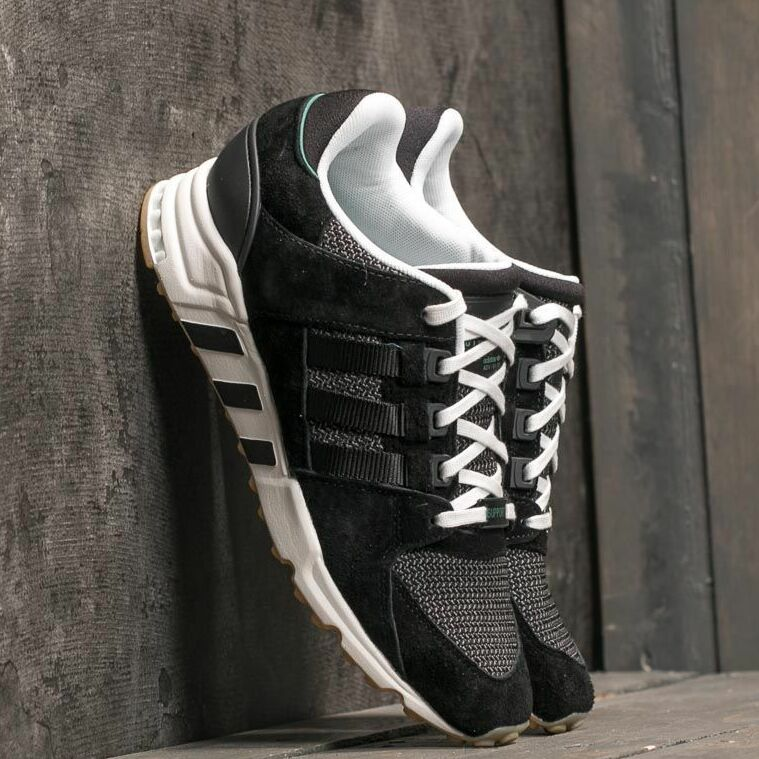 adidas EQT Support RF W Core Black/ Core Black/ Sub Green EUR 37 1/3