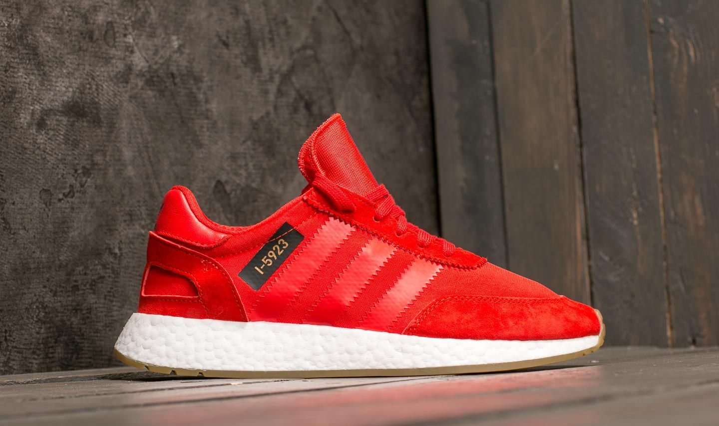 bafe7256e185cf adidas I-5923 Core Red  Ftw White  Gum 3 at a great price