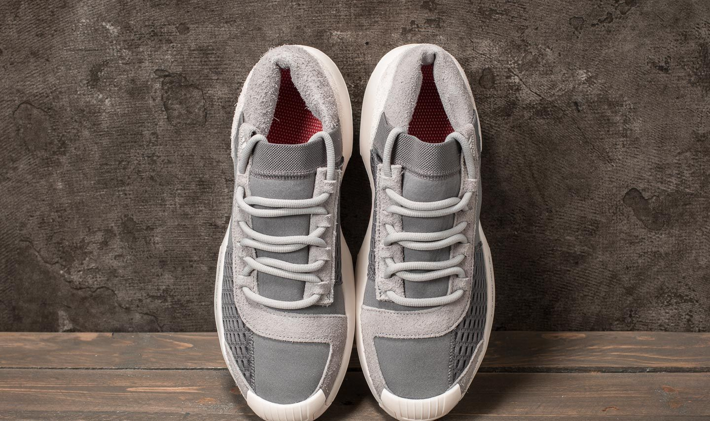 best website 46e29 43919 adidas Consortium Workshop AD Crazy 1 Grey Three Grey Four Power