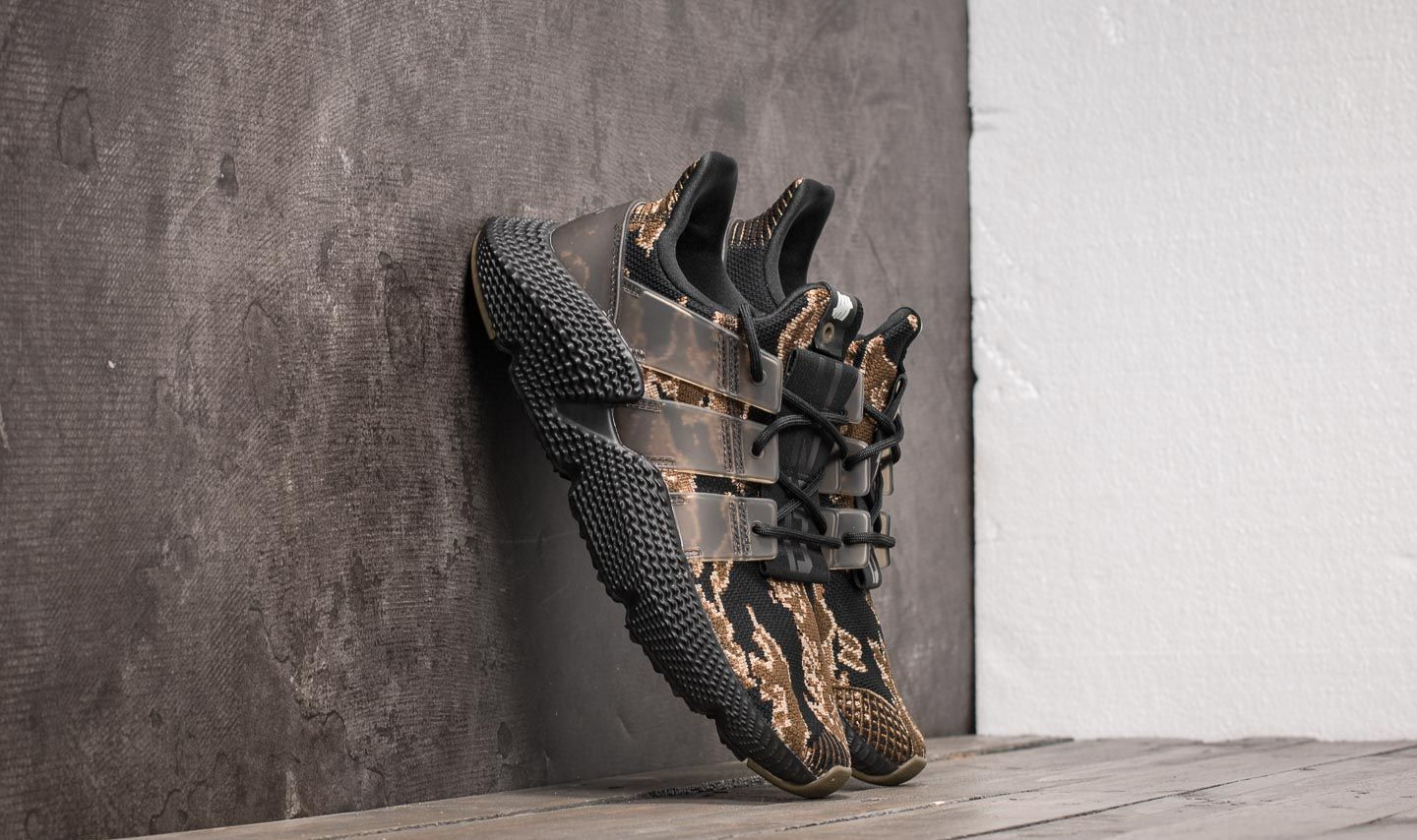 adidas Consortium x Undefeated Prophere Core Black  Trace Olive  Raw Gold 09983091e