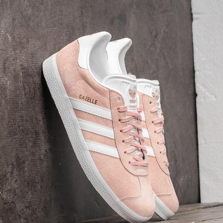 adidas Gazelle Vappnk/ White/ Gold Metalic EUR 43 1/3