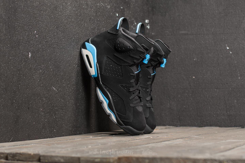 8e131e265e340b Air Jordan 6 Retro Black  University Blue