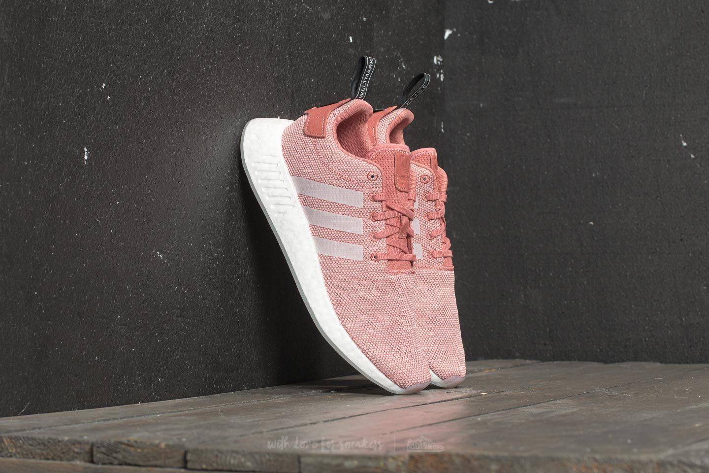adidas NMD R2 W Ash Pink  Crystal White  Ftw White at a great price £ efaf1c8af132