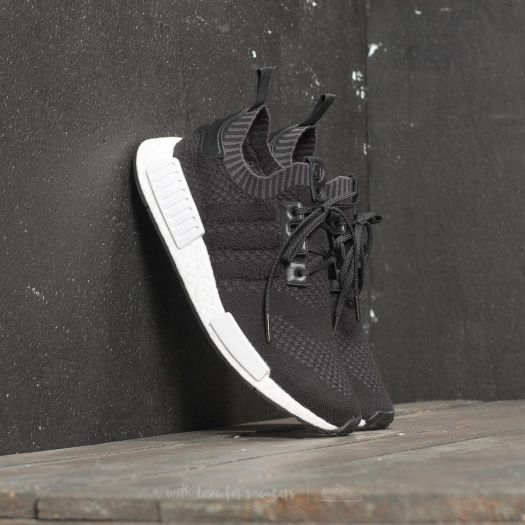 adidas Consortium x A Ma Maniére x Invincible NMD_R1 Black/ Black/ Ftw White | Footshop