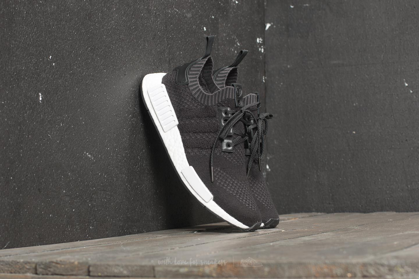 new style a2c0e 90cad adidas Consortium x A Ma Maniére x Invincible NMDR1 Black Black Ftw White