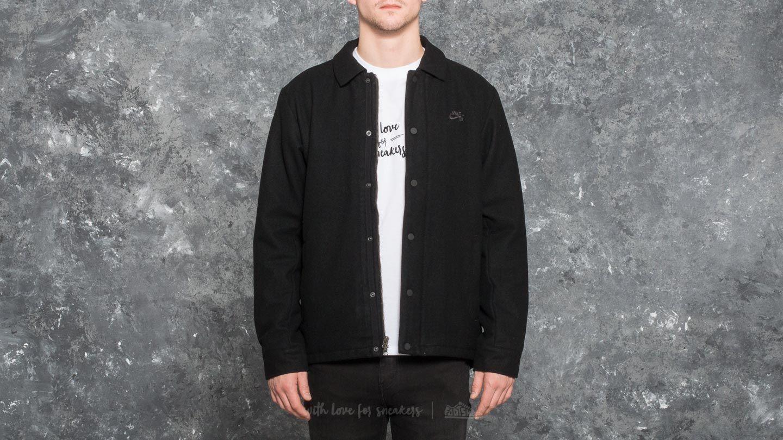Nike SB Wool Coaches Jacket Black/ Anthracite