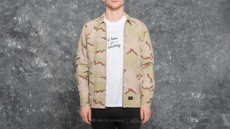 HUF Apparel Woven Reine BDU LS Shirt Desert Camo