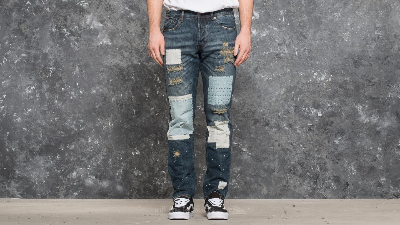 Publish Snyder Woven Denim Jeans Indigo za skvělou cenu 2 190 Kč koupíte na Footshop.cz
