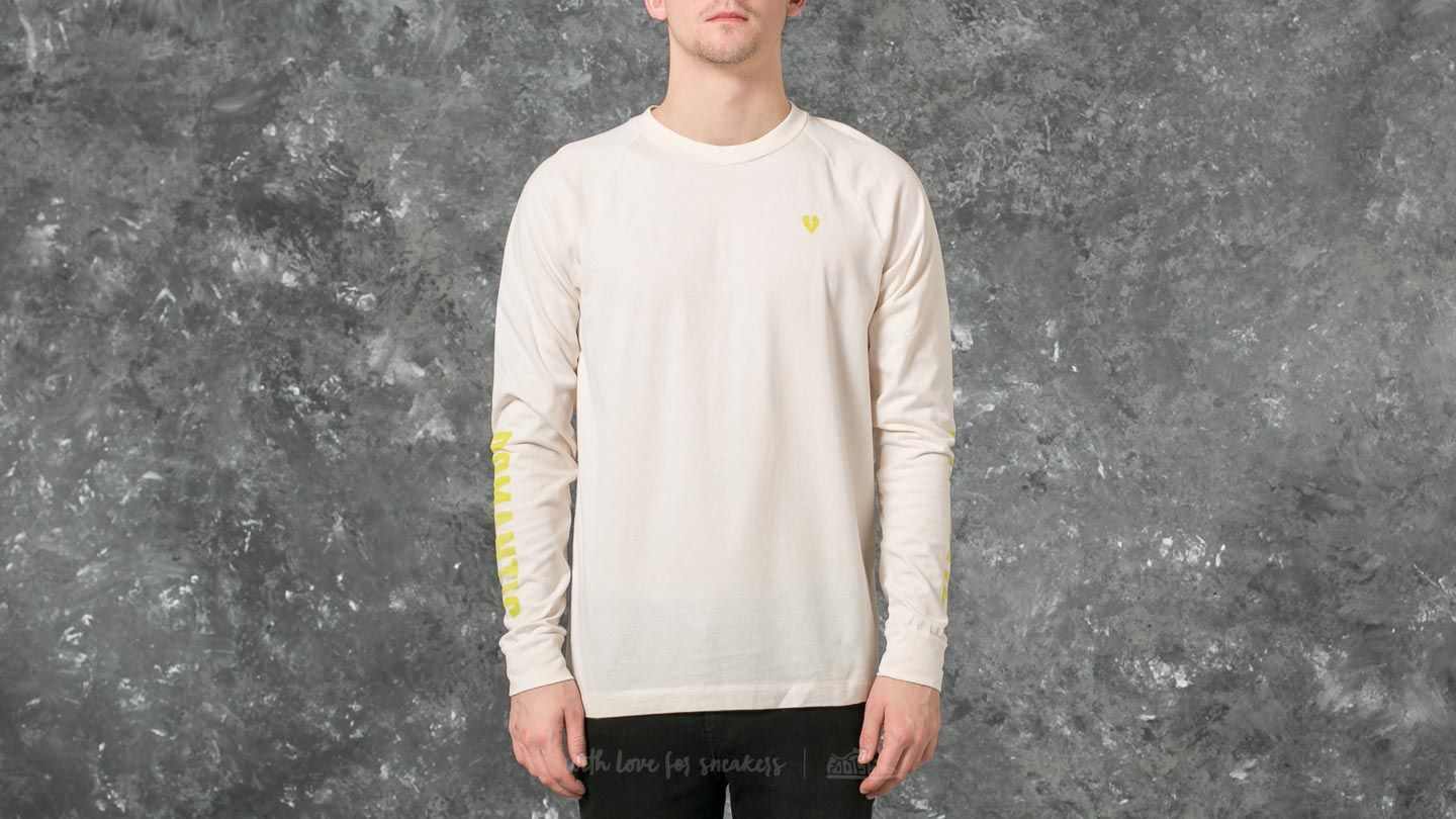 WOOD WOOD Han Longsleeve T-Shirt Off White