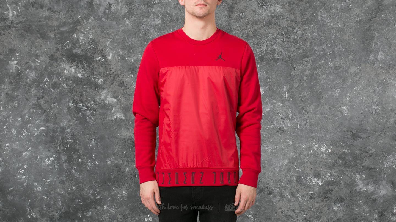 Jordan Air Jordan 11 Hybrid Hybrid Crew Sweatshirt Red Footshop