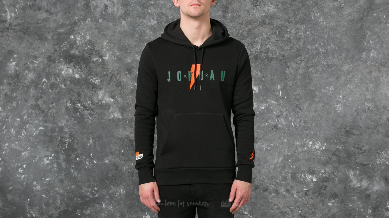 new concept 159b8 40b7e Jordan Like Mike Fleece Pullover Hoodie Black