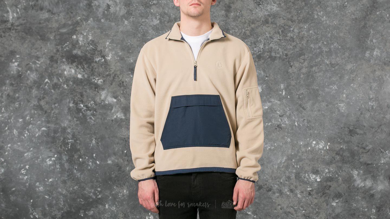 Polar Gonzales Fleece Jacket Sand/ Navy za skvělou cenu 1 990 Kč koupíte na Footshop.cz