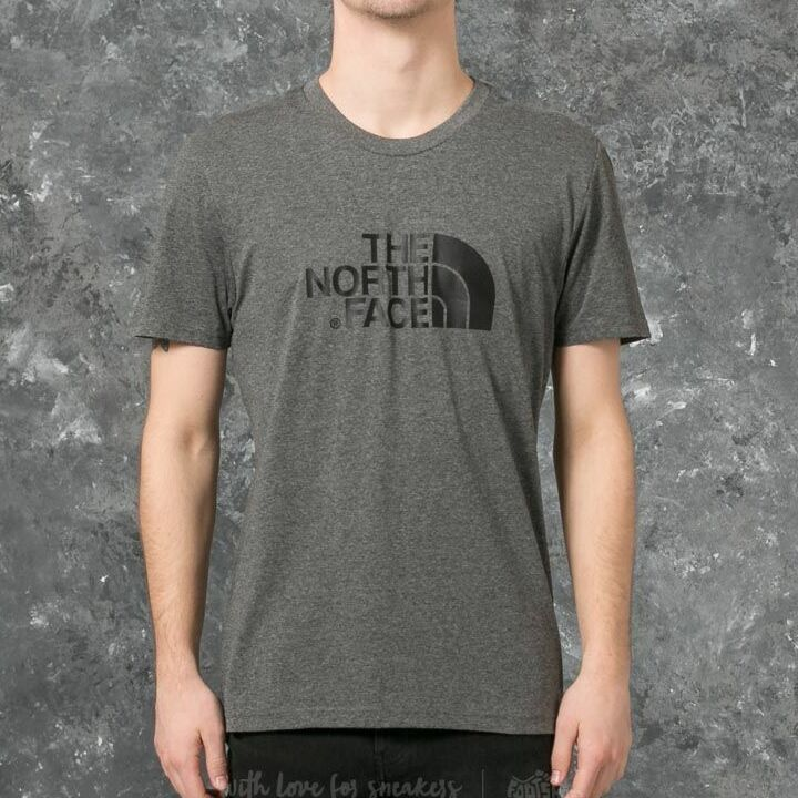 The North Face Short Sleeve Easy Tee Tnf Medium Grey Heather, Gray