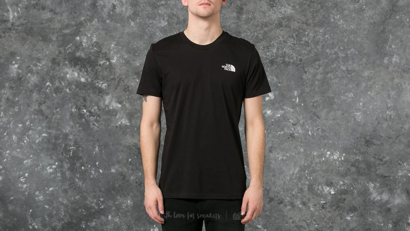 93d5a202 The North Face M Short Sleeve Simple Dome Tee Black | Footshop