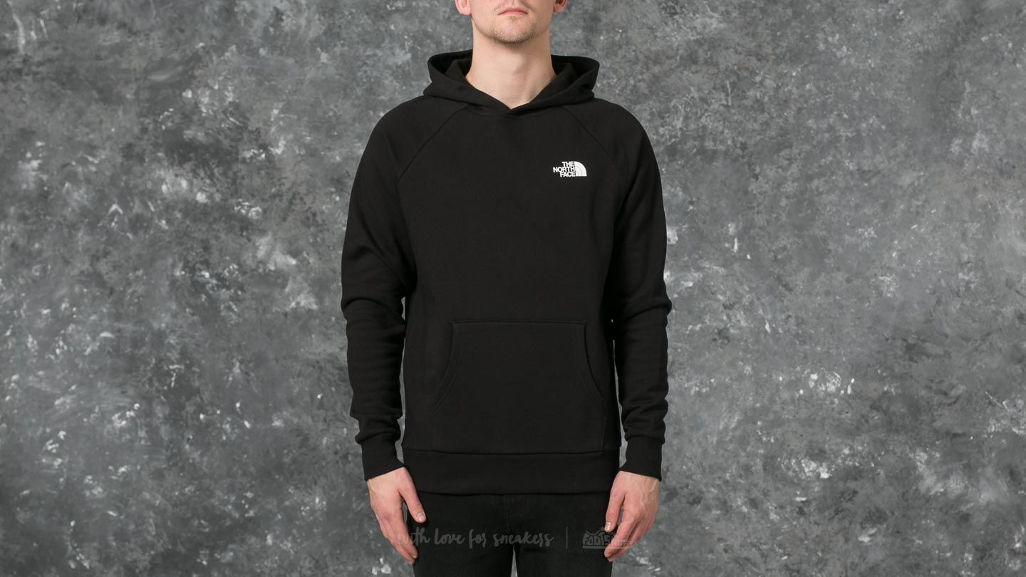 The North Face Raglan Red Box Hoodie Tnf Black  e4dd61e7421a
