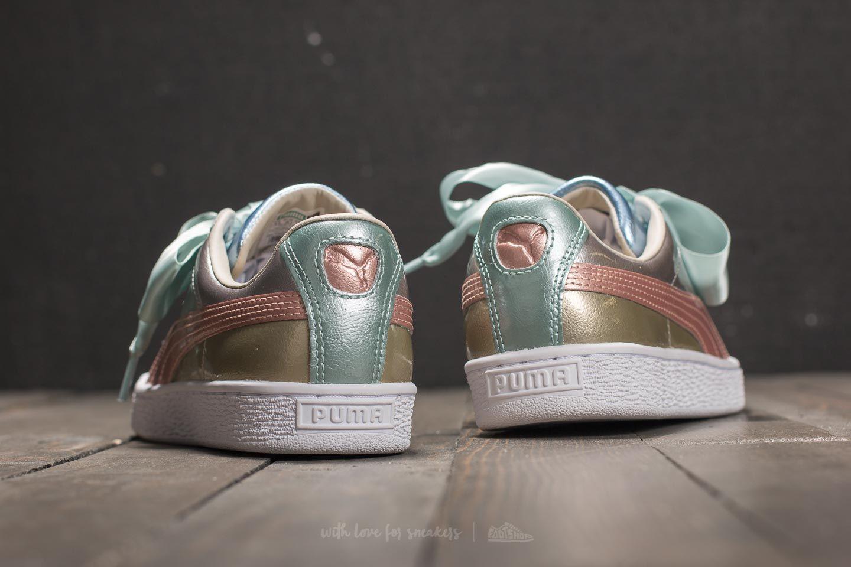 new concept 252ad 34b68 Puma Basket Heart Bauble FM Wn's Silver | Footshop