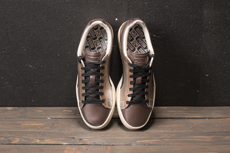 low priced 4d01e e95fa Puma Basket Broken Bauble FM Gold | Footshop