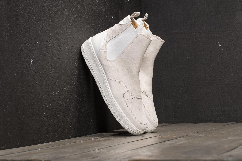 b0be950eaa9b4 Aimé Leon Dore Chelsea Sneaker White Suede