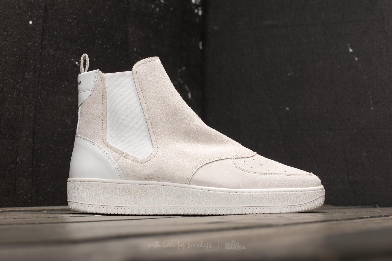 Leon Dore Chelsea Sneaker White Suede