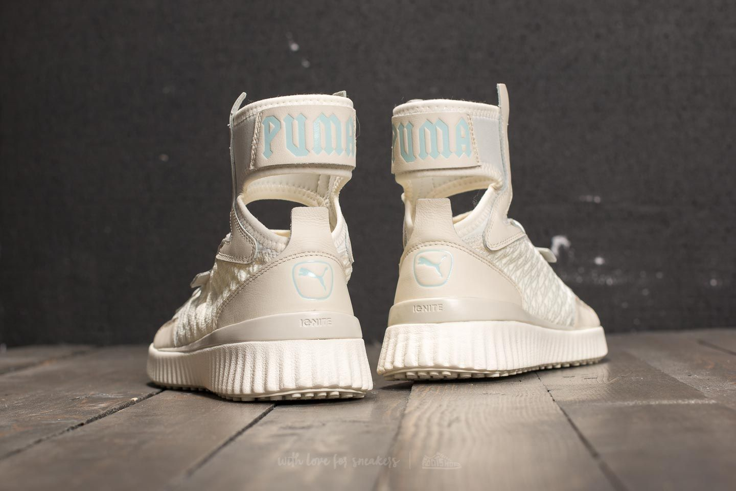 brand new 1039f 119f6 Puma Fenty Trainer Mid Geo Vanilla Ice/ Sterling Blue | Footshop