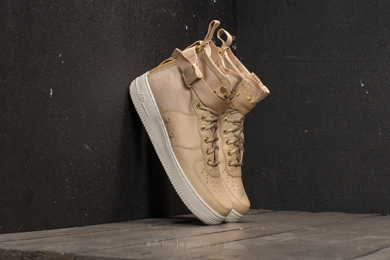 Nike Air Force 1 Mid Light Bone | SneakerFiles
