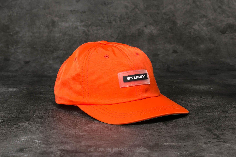 Stüssy Nylon Low Pro Cap Orange