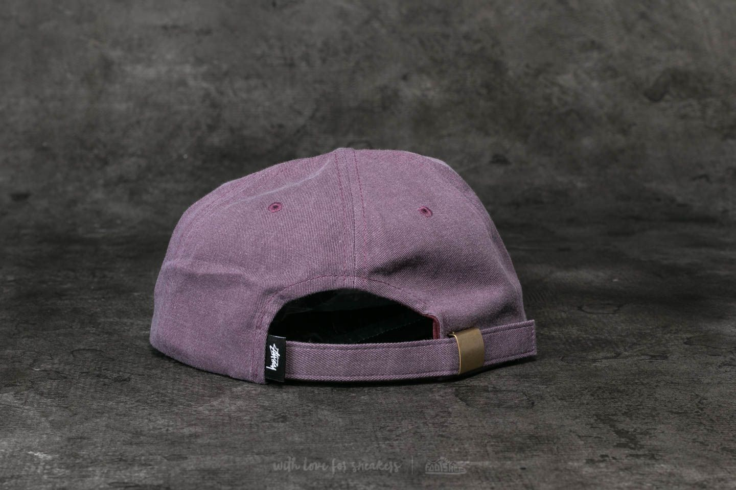 3c098d26f2f Stüssy S Logo Pigment Strapback Cap Red at a great price  30 buy at Footshop