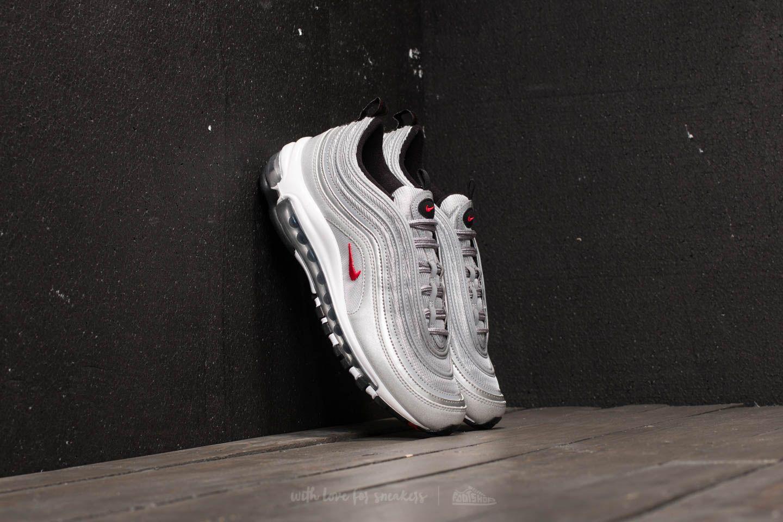 Nike Air Max 97 QS (GS) Metallic Silver  Varsity Red  e215815e6