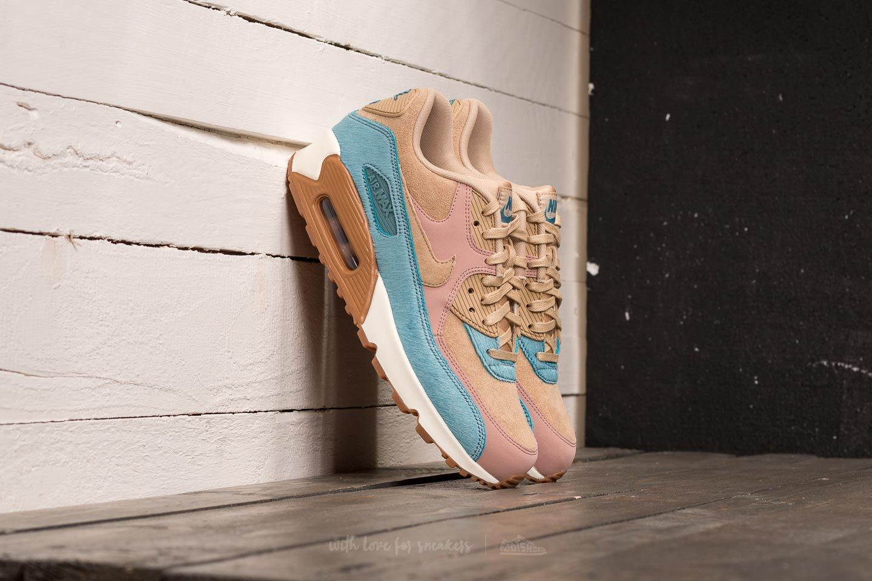 9f0068aa68b6 Nike Wmns Air Max 90 LX Mushroom  Mushroom-Smokey Blue