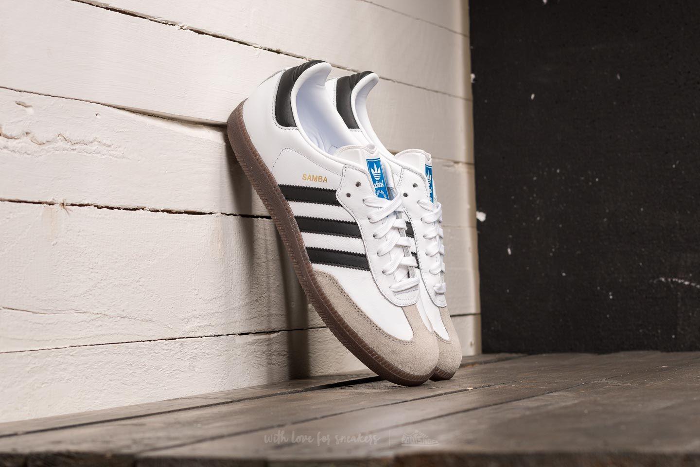 Herren Sneaker und Schuhe adidas Samba OG Ftw White/ Core Black/ Clear Granite