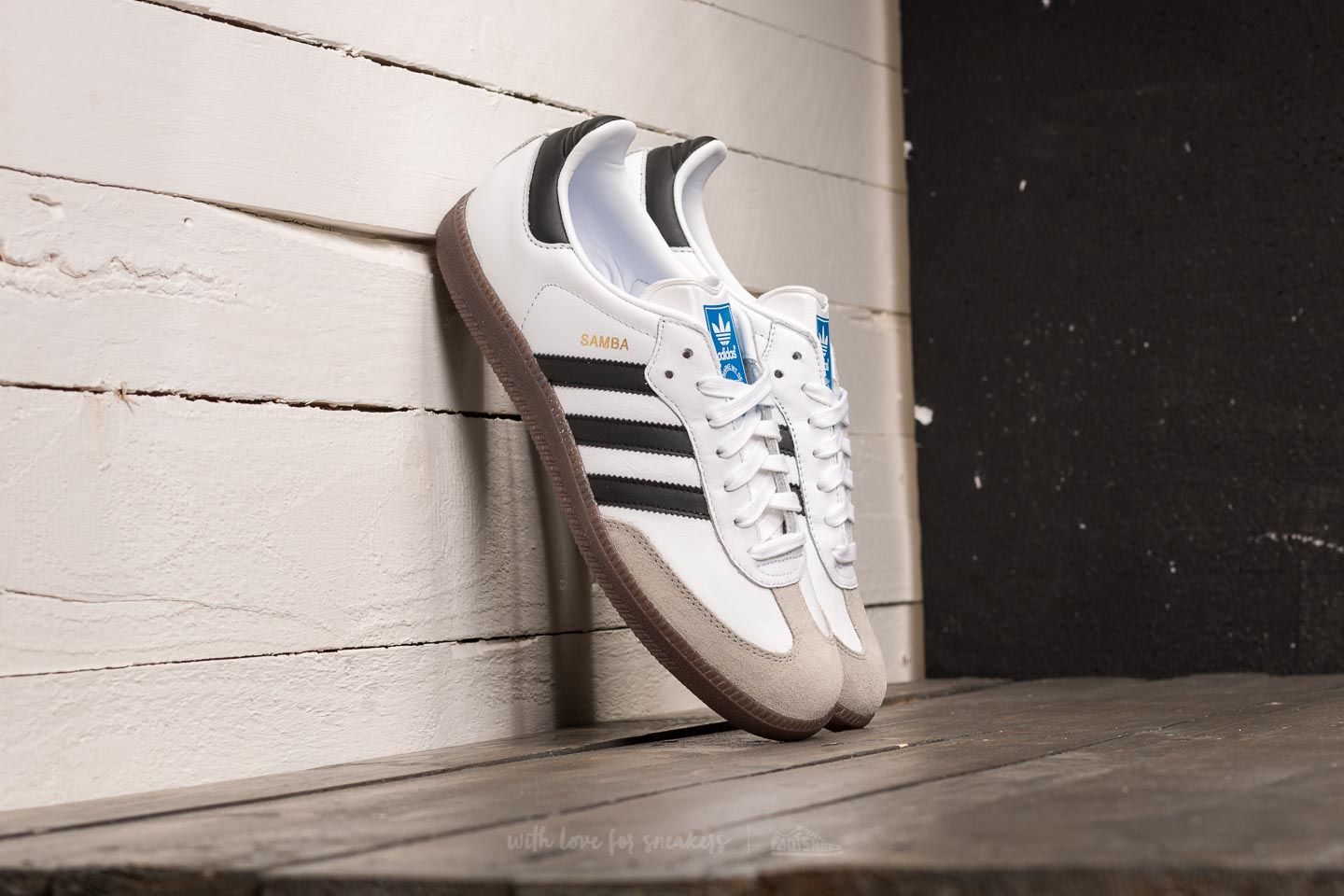 49bed883d95e92 adidas Samba OG Ftw White  Core Black  Clear Granite at a great price £