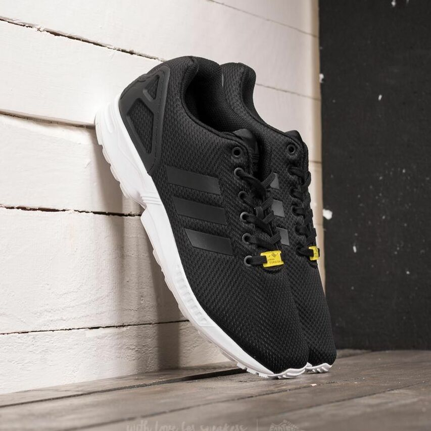 adidas ZX Flux Black 1/ Black 1/ White EUR 46