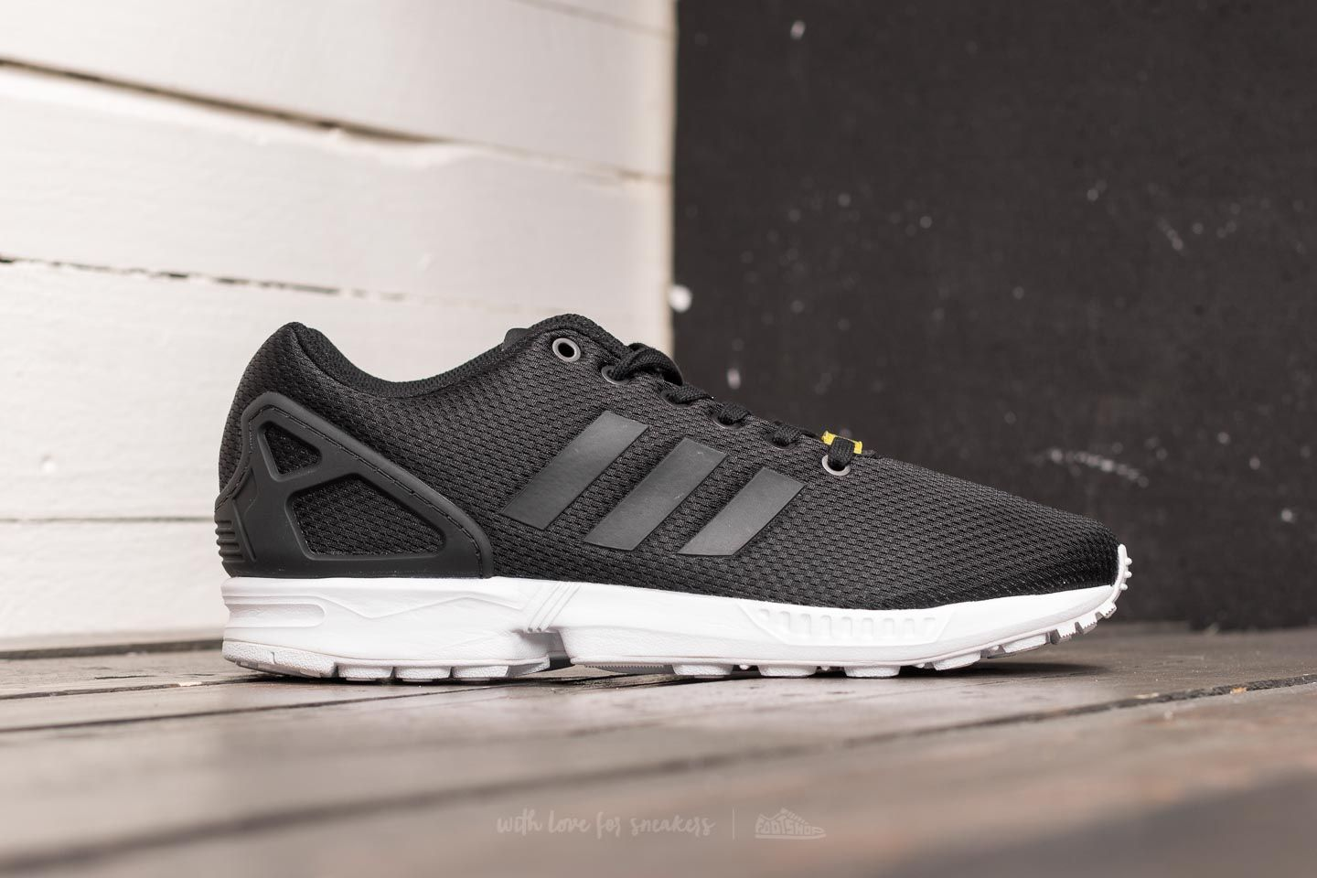 feb763214f4bc adidas ZX Flux Black1 Black1 White at a great price £83 buy at