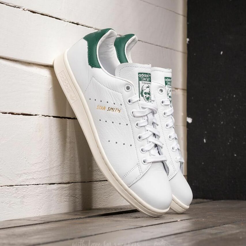 adidas Stan Smith Ftw White/ Ftw White/ Collegiate Green EUR 46