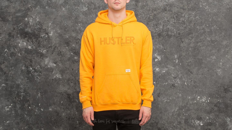 5f807149996 40s   Shorties x HUSTLER x Champion Hoodie Gold