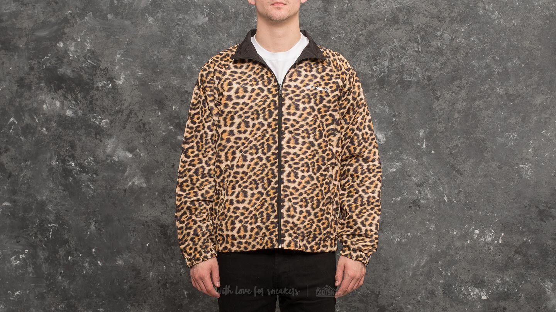 46cd54d6da2 40s   Shorties x HUSTLER Hooligan Track Jacket Black  Leopard ...