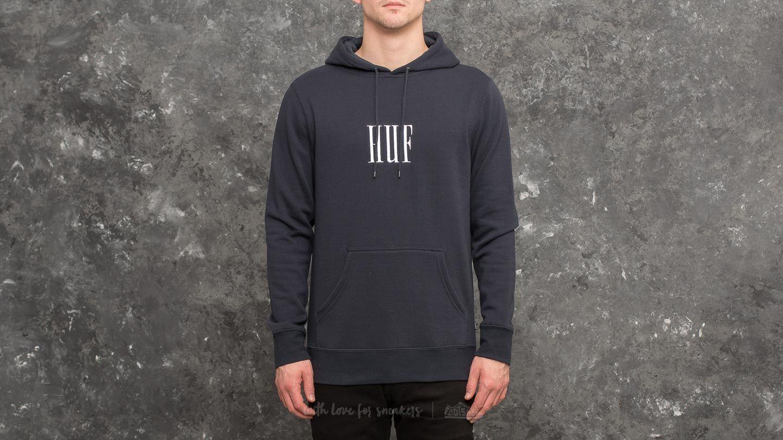 nowy koncept nowe promocje kup sprzedaż HUF Marka Pullover Fleece Hoodie Navy | Footshop