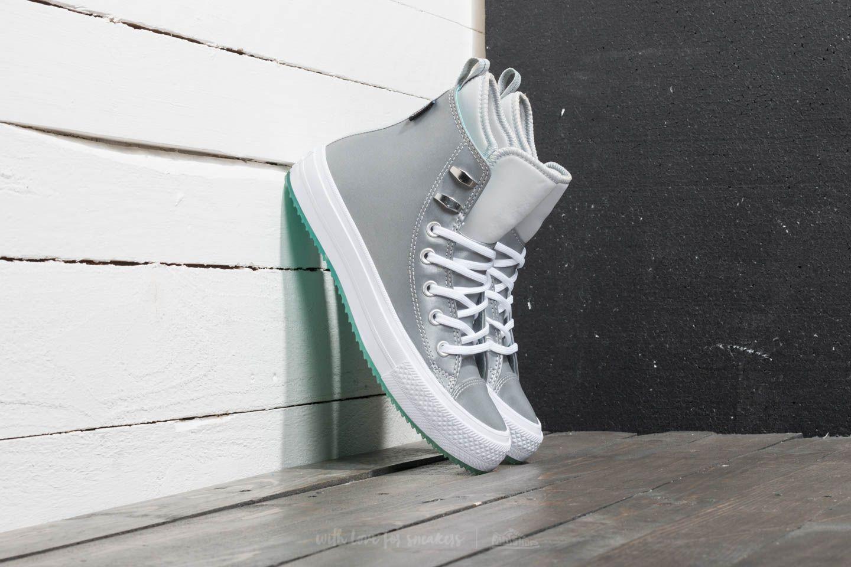 Converse Chuck Taylor All Star Waterproof Boot Hi Pure Platinum/ Light Aqua/ White za skvělou cenu 2 190 Kč koupíte na Footshop.cz