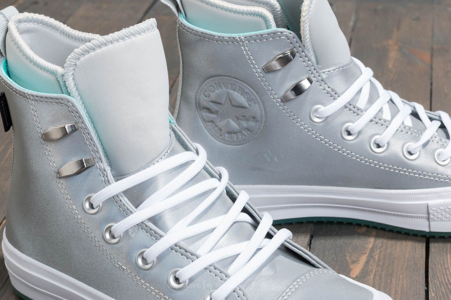 5cbe7a3f919 ... australia converse chuck taylor all star waterproof boot hi pure  platinum light aqua white at 7b1f1