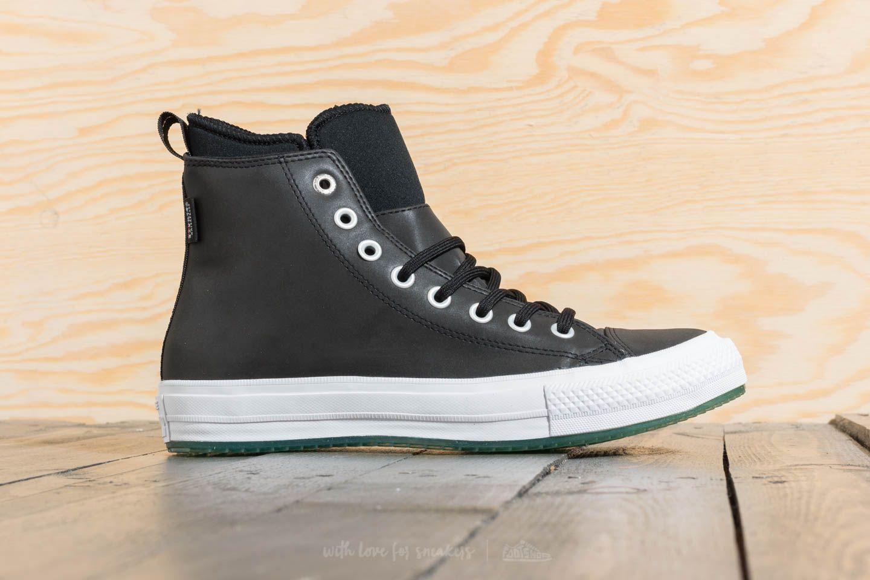 76f3c466d1 Converse Chuck Taylor All Star Waterproof Boot Hi Black/ Light Aqua/ White  at a