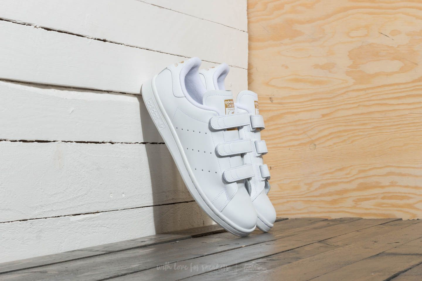 adidas Stan Smith Ftw White/ Gold Metallic