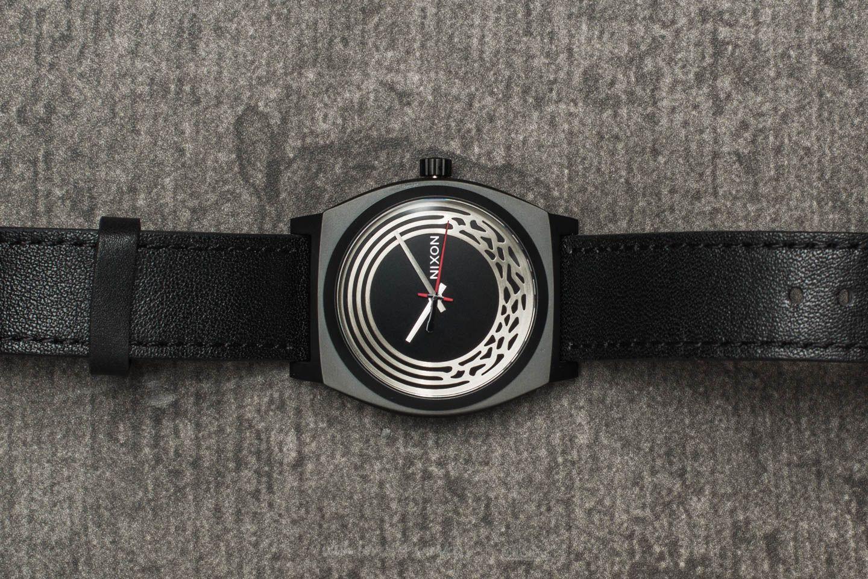 Hodinky Nixon x Star Wars Time Teller Leather Watch Kylo Black