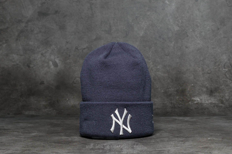 best authentic 3dfae 5e283 New Era MLB League Essential Cuff New York Yankees Beanie Blue