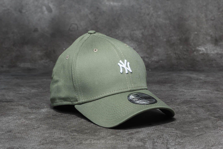 New Era 39Thirty MLB Mini Logo New York Yankees Cap Green ... 4c89f7ff7b4