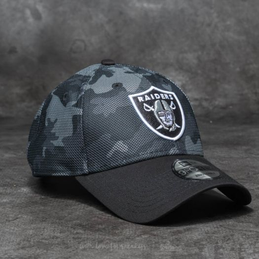 33b3154d34a New Era 9Forty NFL Mesh Overlay Oakland Raiders Grey  Black