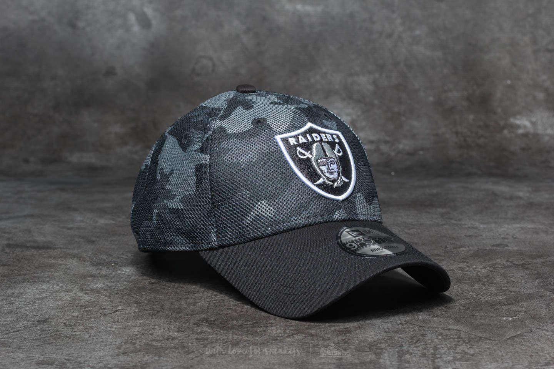 709dbaa2df7 New Era 9Forty NFL Mesh Overlay Oakland Raiders Grey  Black ...