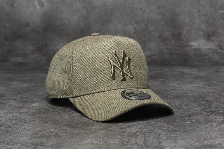 New Era MLB Seasonal Heather New York Yankees Cap Green ... 9269bb2b520